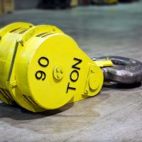 90-Ton Lower Hook Block Assembly