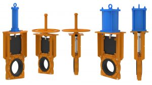 KREBS TGW- Technequip knife gate valves