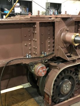 Ore Bridge End Truck Assembly